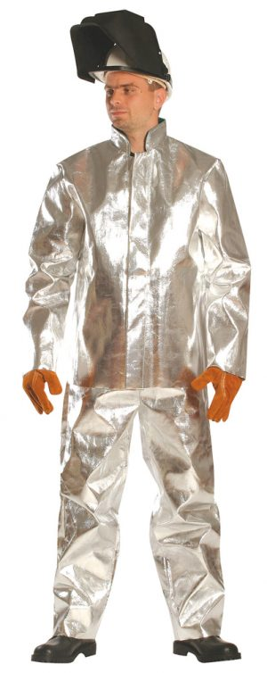 Aluminizált hő- és lángálló ruházat